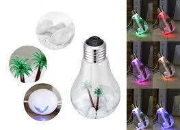 دستگاه بخور طرح لامپ